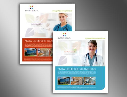 Baptist Hospital Print Ad Campaign