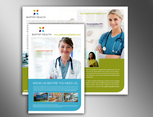 Baptist Hospital Brochure and Mailer