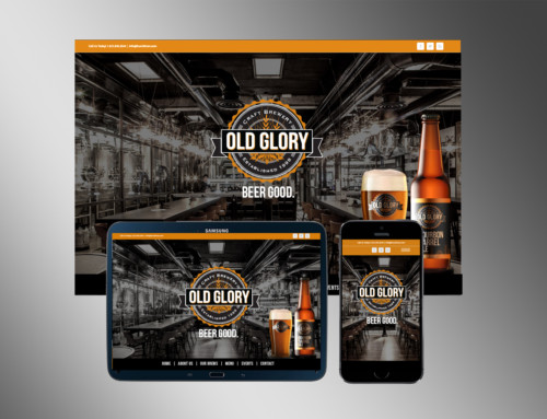 Old Glory Brewery Web Design and Brand Development